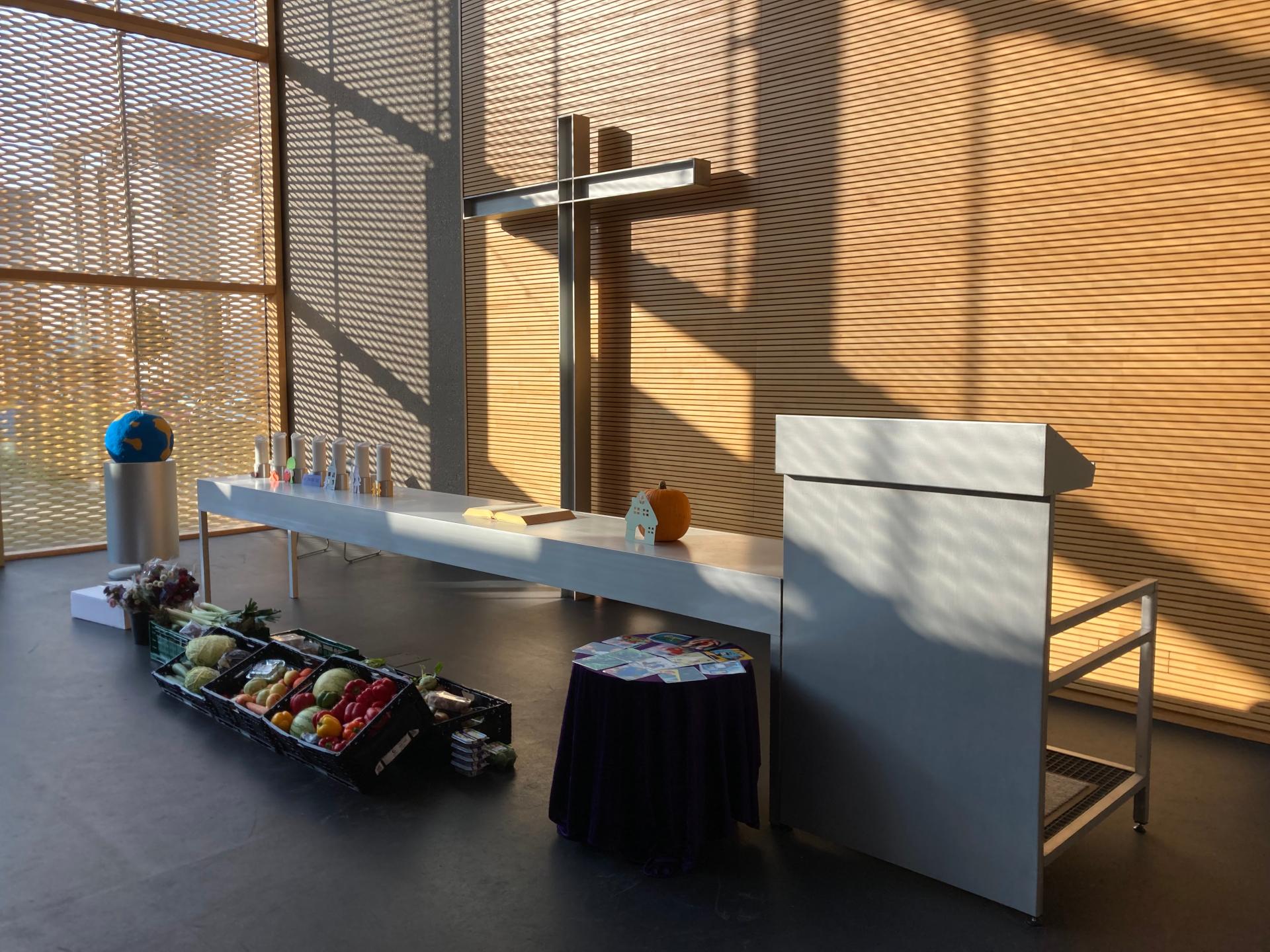 """""""2 in 1""""-Familiengottesdienst zu Erntedank 2021 in der Johanneskirche"""